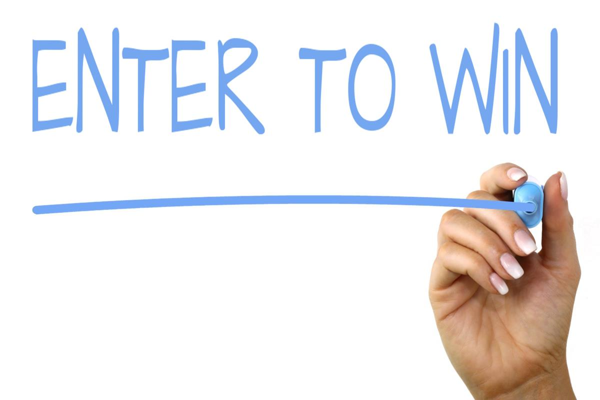 Sign up, Log in and Register for a chance to WIN this week's contest!